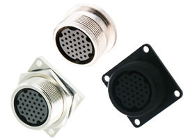 E-Size Waterproof Panel Mount Connector