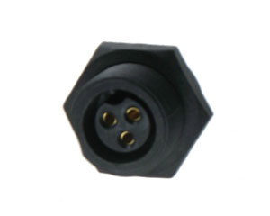Female Rear Mount Screw Type Connector