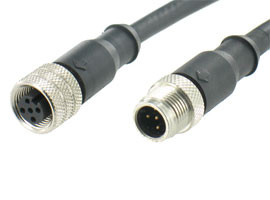 M12 Waterproof Molding Cable