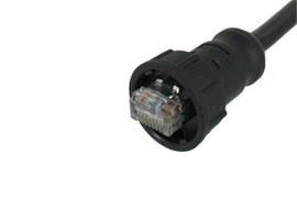 RJ45 Waterproof Molding Cable