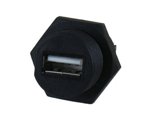 USB 2.0 A Type Panel Mount Connector