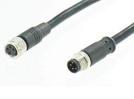 M5 & M8 Waterproof Molding Cable