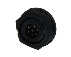 Male Rear Mount Connector