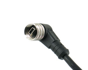 Mini USB B Type Molded Cable R/A