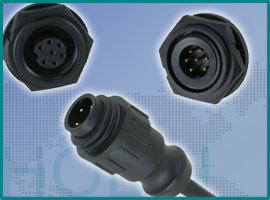Circular P-Size Waterproof Connector