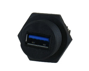 USB 3.0 Panel Mount Connector