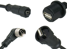 USB Waterproof Molding Cable